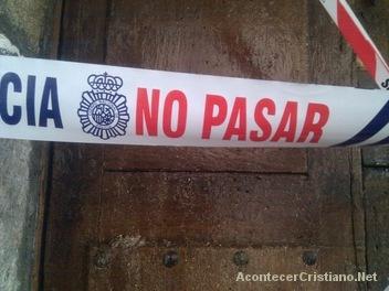 Cierran iglesia evangélica en España