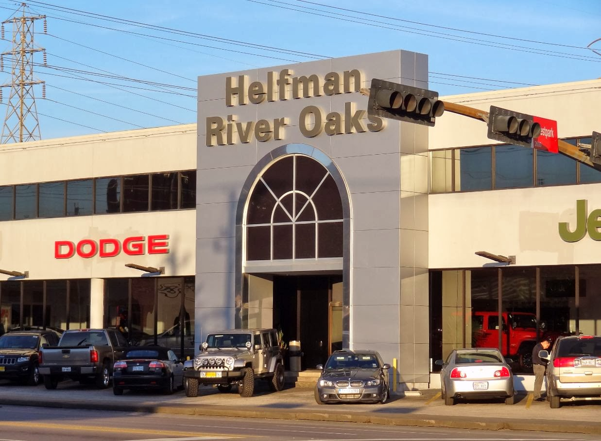 River Oaks Dodge >> Houston In Pics Helfman River Oaks On Kirby Dodge Jeep
