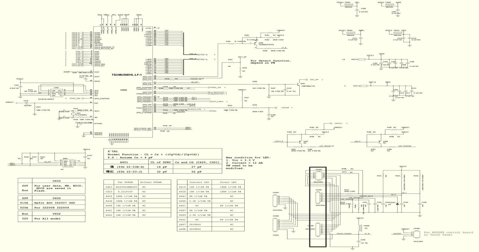 Superb Aoc2236Vwa Lcd Monitor Circuit Diagram 7155G2892 Power Board Wiring Database Hyediarchgelartorg