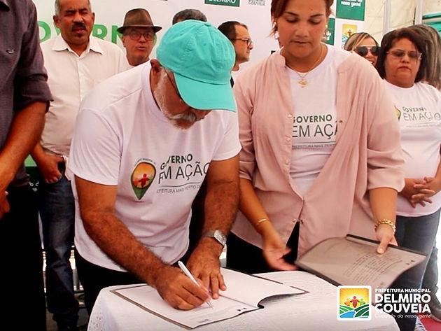 Em Delmiro Gouveia, Adesão ao Programa Lidera Esportes é assinada durante primeira edição do Governo em Ação
