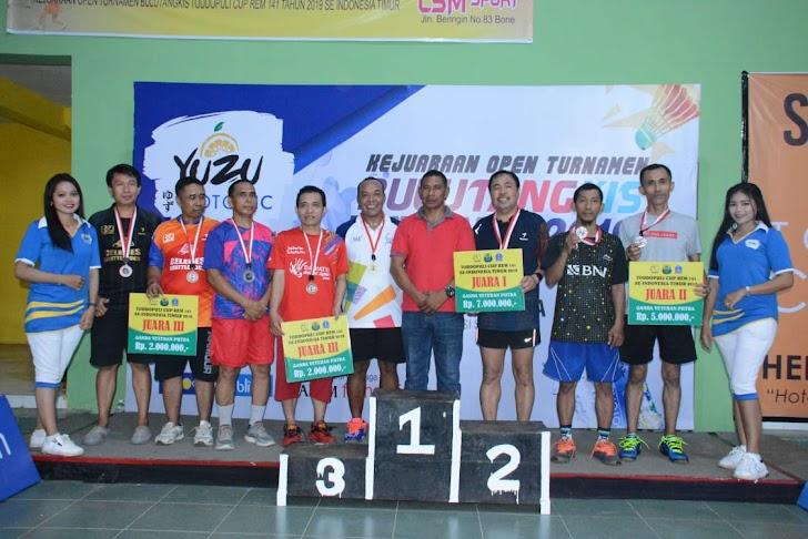 Mantan Juara Dunia Ganda Campuran Hadir di Final Turnamen Bulutangkis  se-Indonesia Timur
