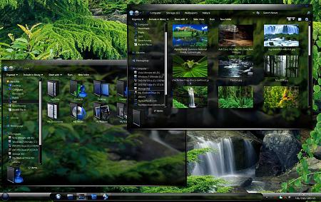 7 amazingly beautiful windows 7 themes free downloads.