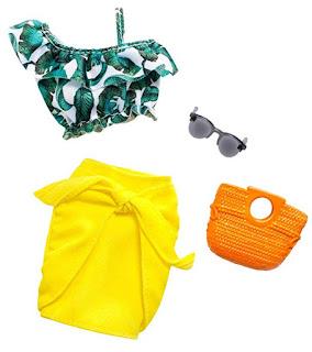 Пляжный наряд для куклы Барби