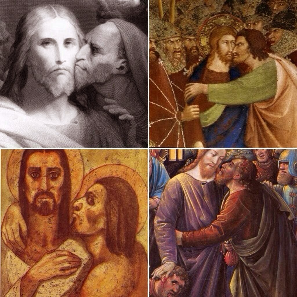 Funny Judas Never Understood Jesus Personal Space Picture