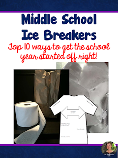 "TEN icebreakers + a ""Get-To-Know-You"" Activity to help you start the school year off right!"