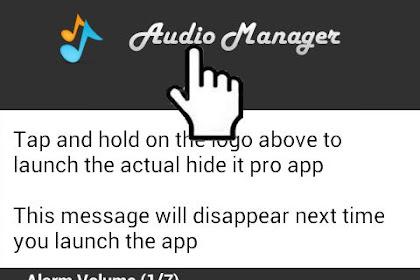 Menyembunyikan File, Foto,Video, Musik Dan Aplikasi Di Android
