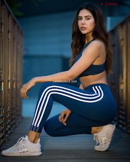 Sonam Bajwa Sizzling Punjabi Actress Stunning Beauty July 2018 Exclusive Pics 007