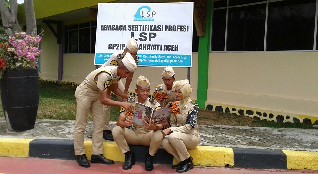 Majalah Garda Maritim Bakamla RI Tembus Serambi Mekah