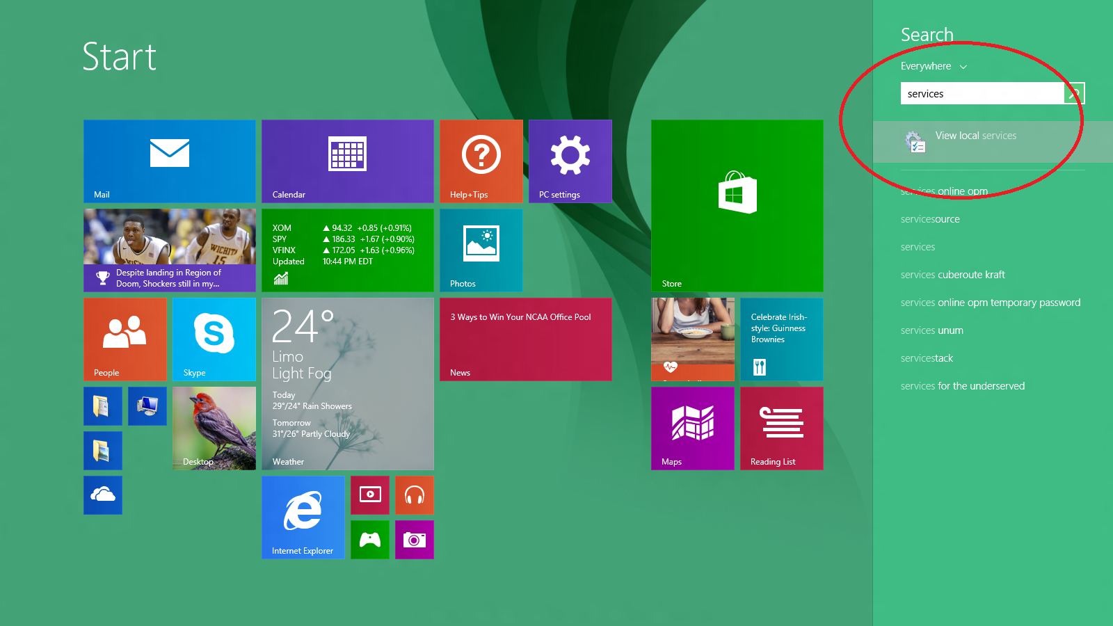 Cara Restart Print Spooler Windows 8