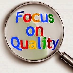 Fokus terhadap kualitas blog