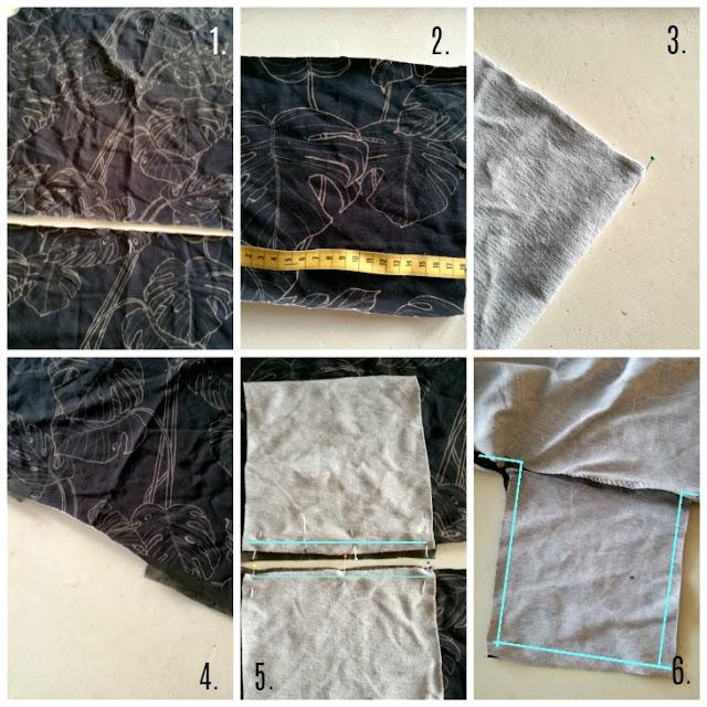 ompeluohje upotettuihin taskuihin