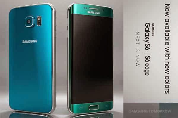Warna Baru Samsung Galaxy S6