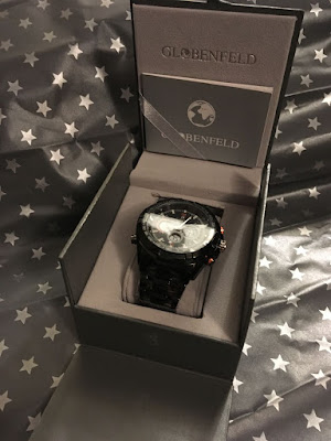 Globenfeld sports watch black and red