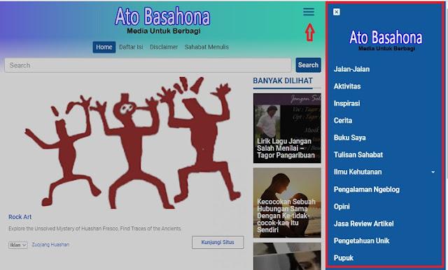 Semua Kategori Postingan Blog Ato Basahona