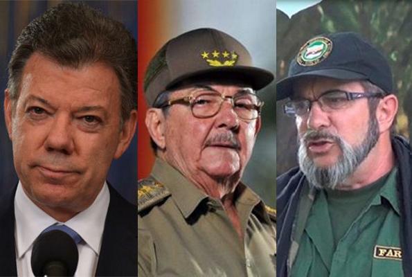 FARC Timochenko Santos Castro
