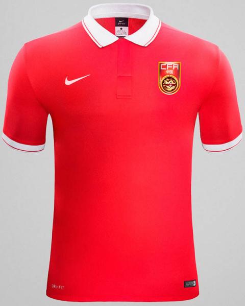 378e36a1dbc98 China agora veste Nike em seus novos uniformes - Show de Camisas