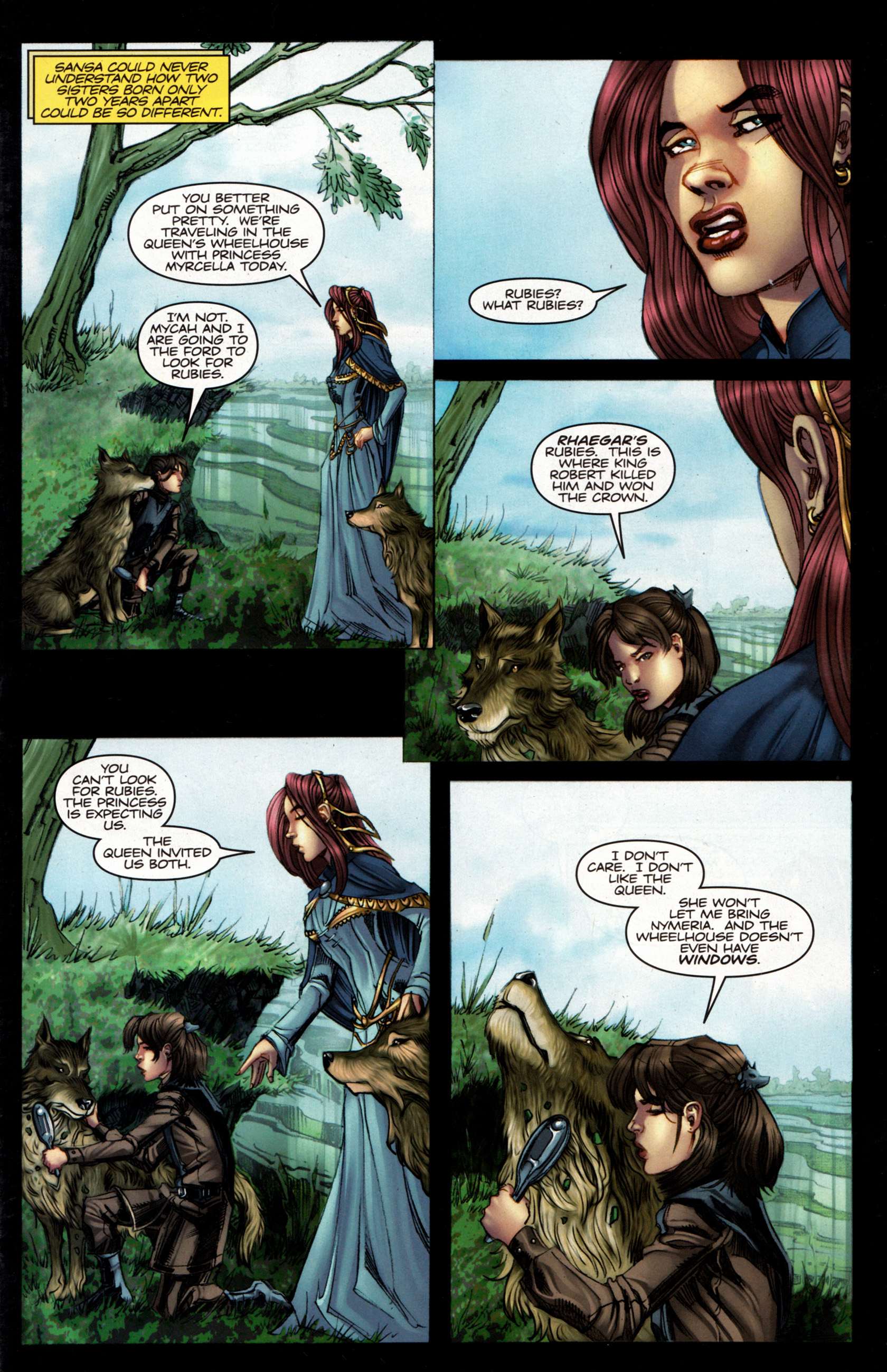 Read online A Game Of Thrones comic -  Issue #5 - 3
