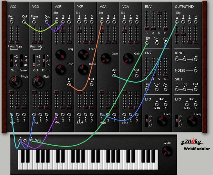 MATRIXSYNTH: WebSequencer - Online Sequencer Featuring