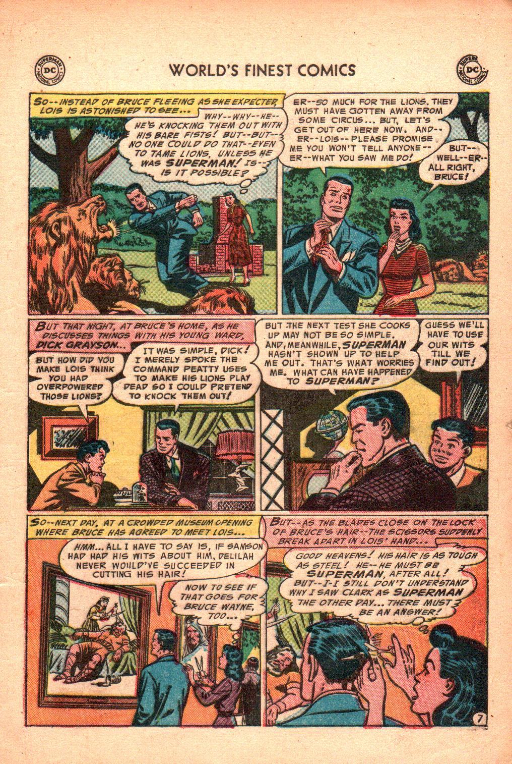 Read online World's Finest Comics comic -  Issue #71 - 11