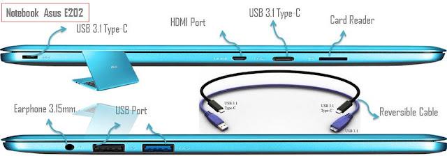 Asus E202 Didukung Beberapa USB Port - Blog Mas Hendra