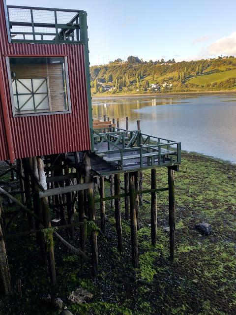 Palafitos de Castro, Isla Grande de Chiloé, Chile