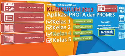 Aplikasi Prota dan Promes Kurikulum 2013 Untuk Sekolah Dasar Terbaru