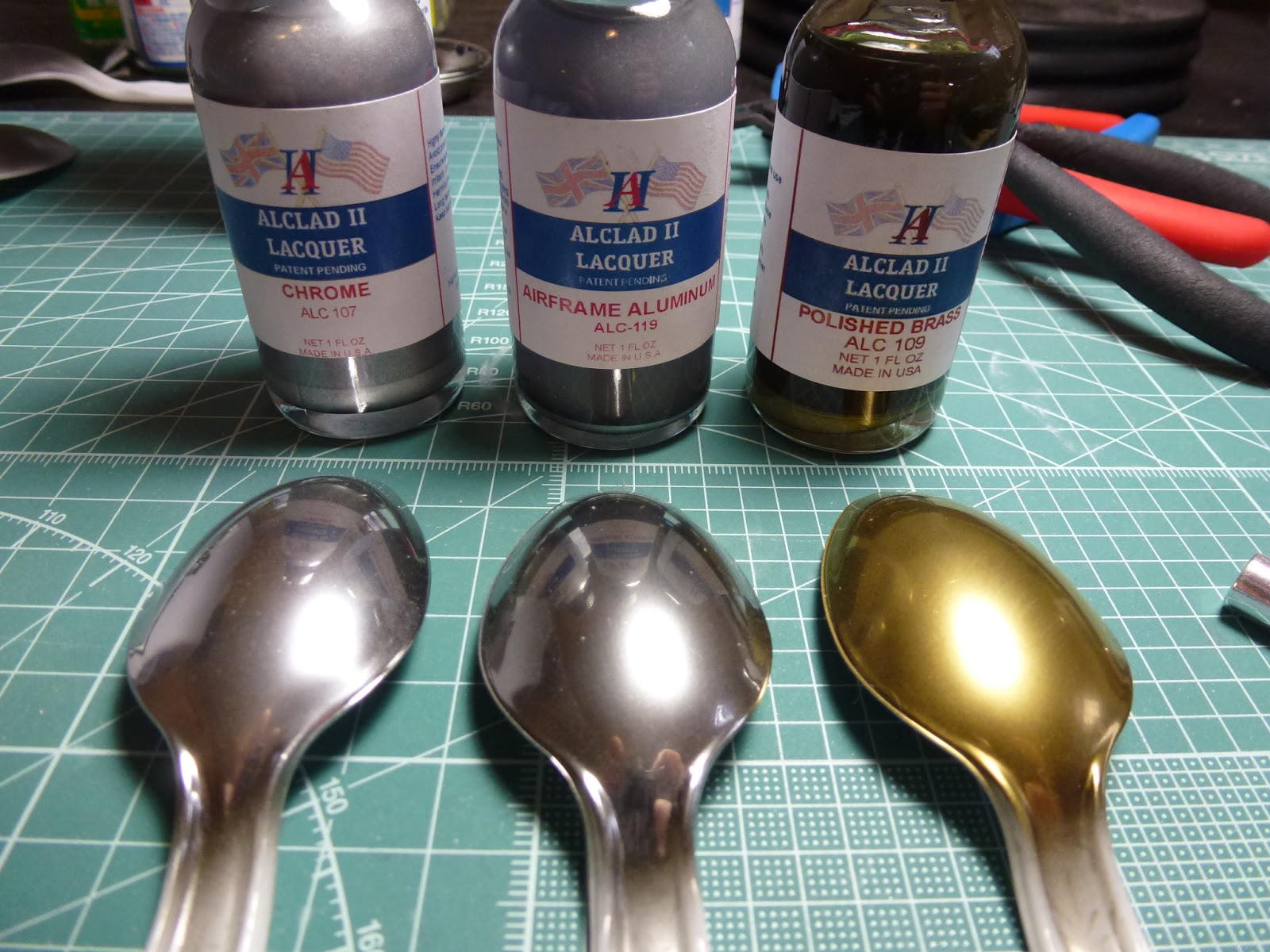 Gunplacore: Tutorial: Metallic Paints and Finishes