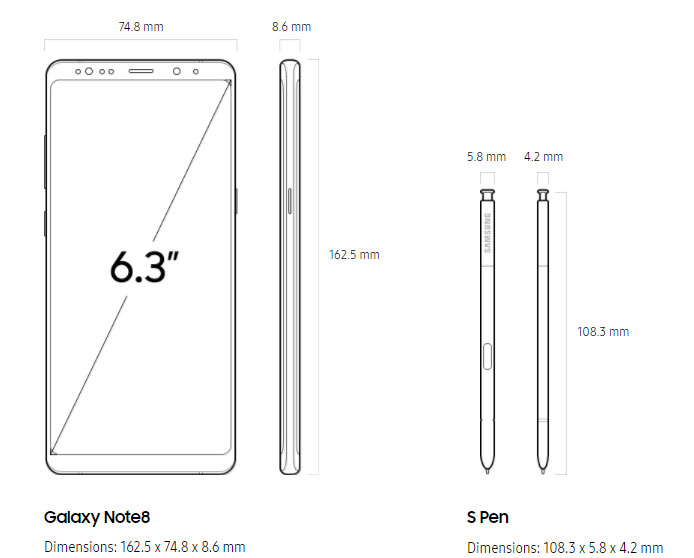 Galaxy Note 8 The Perfect Mobile Phone For A Graphic Designer Logos X7