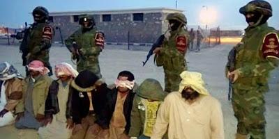 الجيش المصري يقبض علي ارهابيين