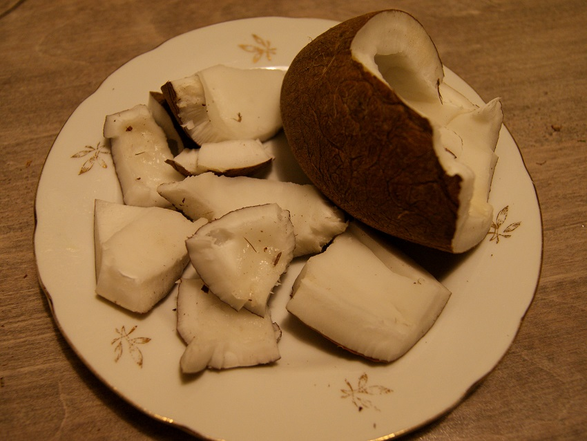 Mleko kokosowe z kokosa