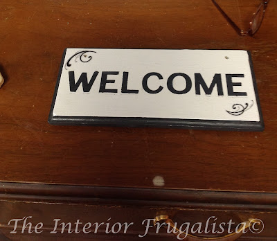 DIY Sign for Outdoor Welcome Sign Post