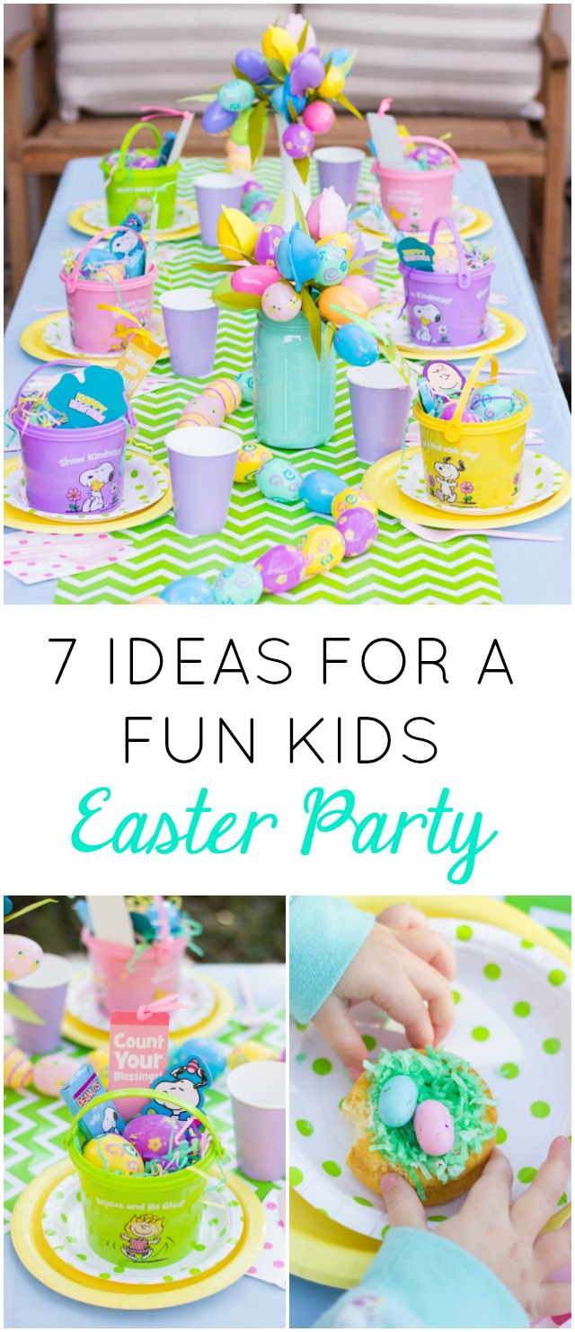 Love All These Ideas For A Fun Kids Easter Party