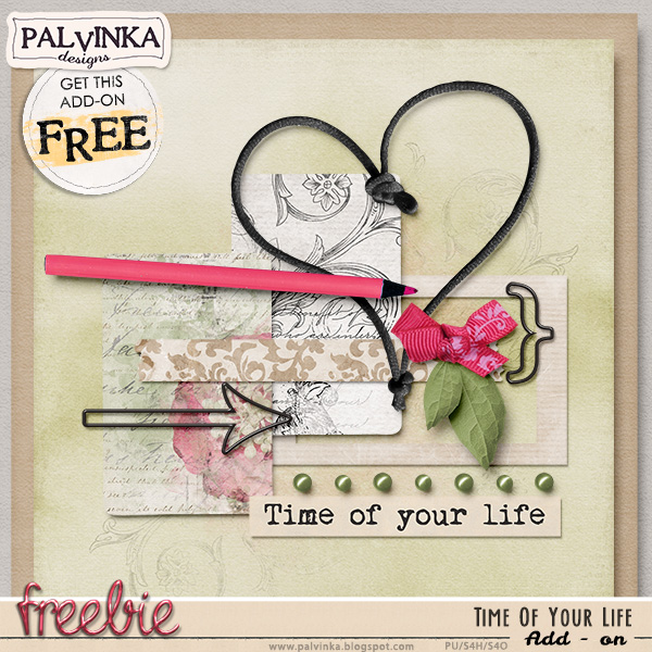 New Pickle Barrel - Time Of Your Life collection and Add On Freebie