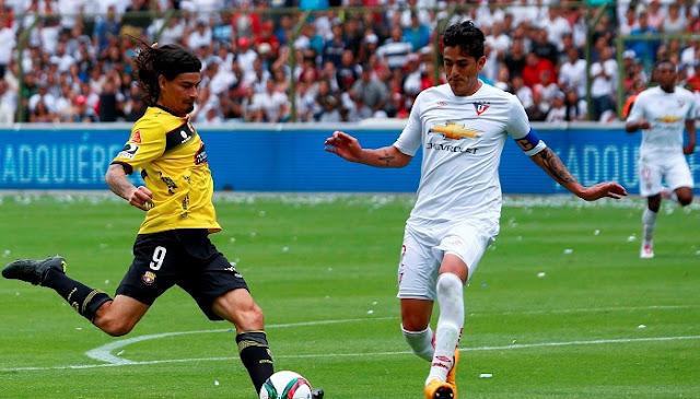 Liga de Quito vs Barcelona SC en vivo