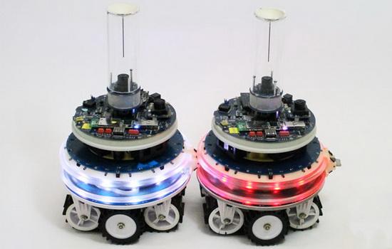 Laporan Penelitian Pasukan Robot Melakukan Konfigurasi Mandiri