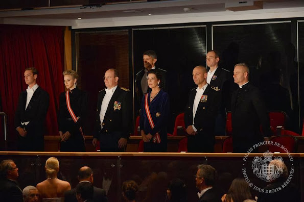 Monaco Royal Family attended the Monaco National day Gala concert as part of Monaco National Day Celebrations