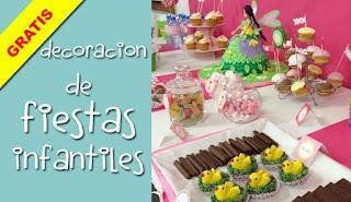 COLECCIN DE JUEGOS Curso gratuito Decoracin de fiestas infantiles