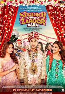 Shaadi Mein Zaroor Aana First Look Poster