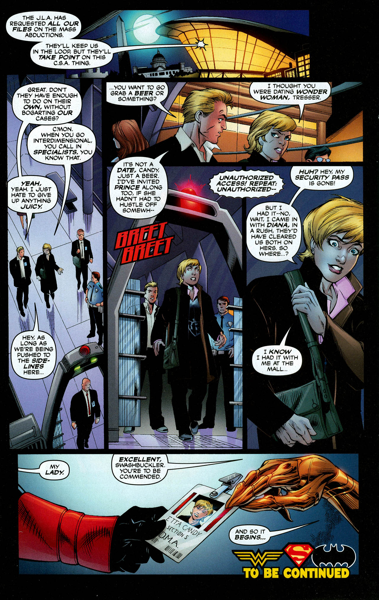 Read online Trinity (2008) comic -  Issue #9 - 18