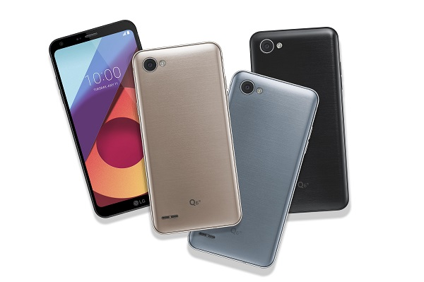 LG announces Q6+, Q6 and Q6α with FullVision display, Android 7.1.1 Nougat and Snapdragon 435 processor