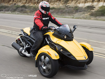 Can Am 3 Wheeler >> New Automotive News and Images: Stylist Motorcycle - Can