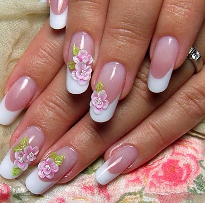 French Manicure Tips | Fashion's Feel | Tips and Body Care