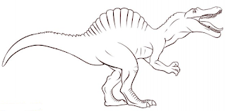 Spinosaurus Coloring Pages For Kids