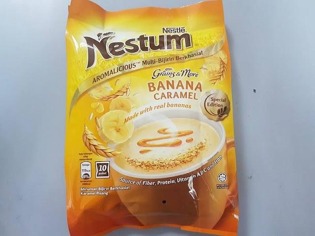 NESTUM 3in1 Banana Caramel 10 x 28g