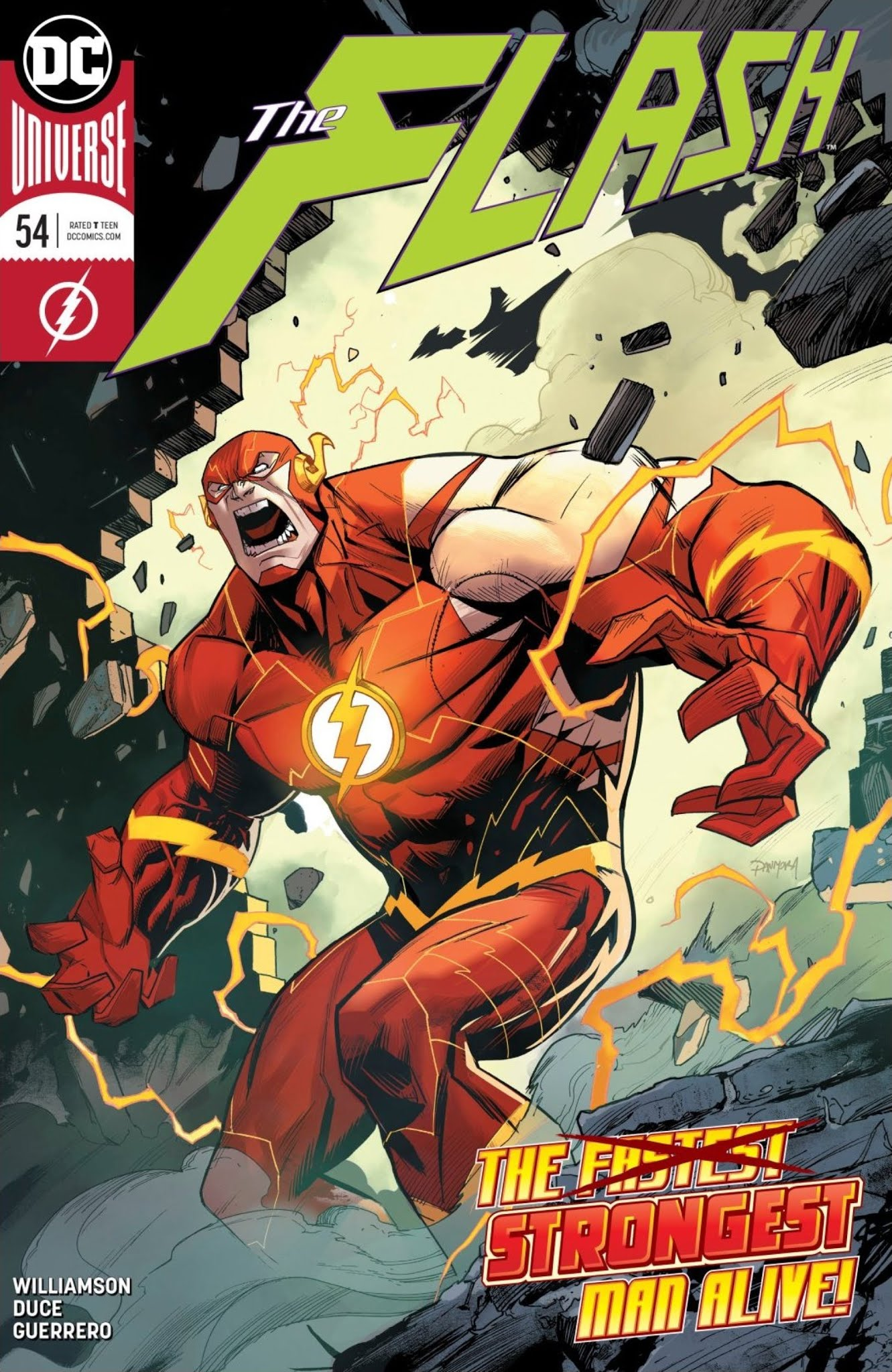 The Flash (2016) 54 Page 1