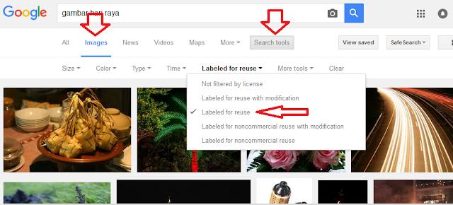 Trik Mudah Dapat Gambar Bebas Copyright Dari Google Image