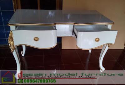 meja konsul ukir klasik mewah