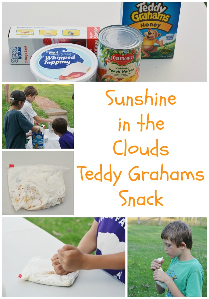 Delicious Teddy Grahams snack that is fun for kids to make and eat. #recipe #snack
