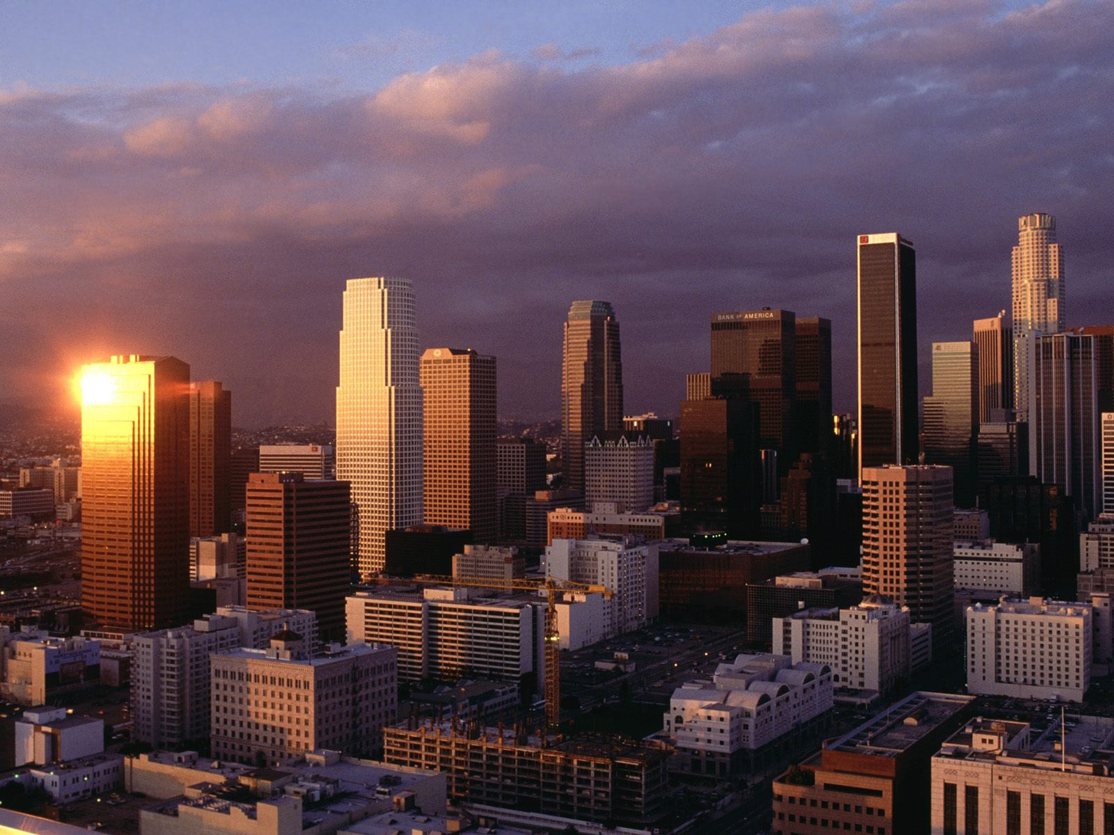 Sportstars: Los Angeles Skyline Wallpapers