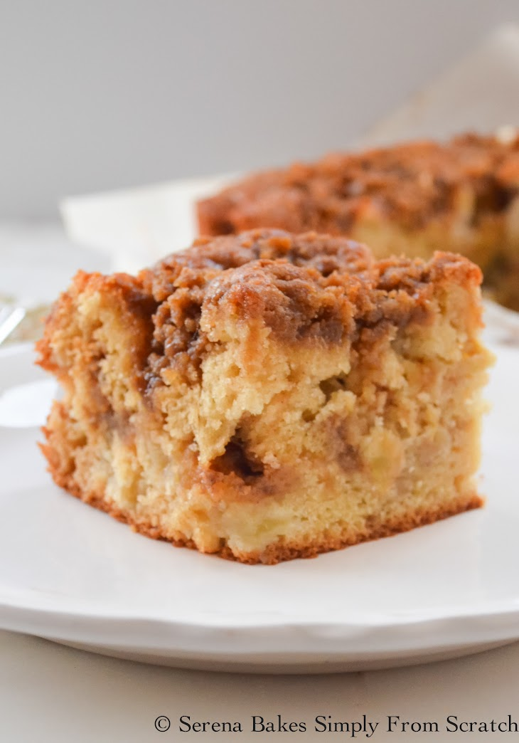 Whole Wheat Apple Cake No Sugar